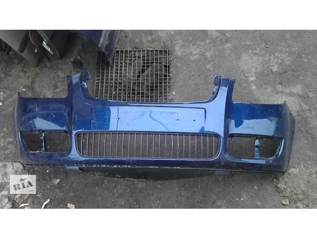 продам Б/у бампер передний для легкового авто Skoda Fabia бу в Львове