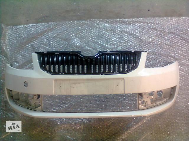бу Б/у бампер передний для легкового авто Skoda Octavia A7 в Киеве