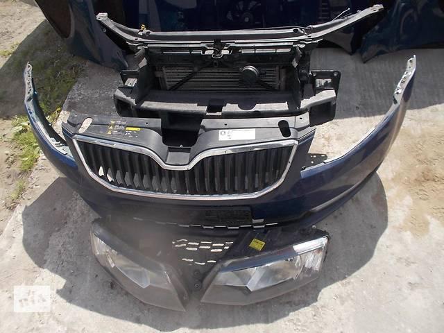 Б/у бампер передний для легкового авто Skoda Octavia A7- объявление о продаже  в Здолбунове