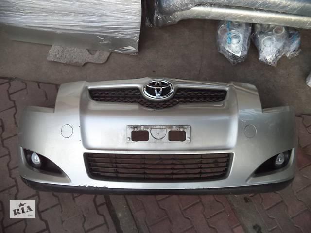 Б/у бампер передний для легкового авто Toyota Auris- объявление о продаже  в Здолбунове