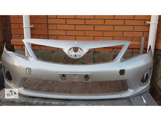 бу Б/у бампер передний для легкового авто Toyota Corolla E15 в Киеве