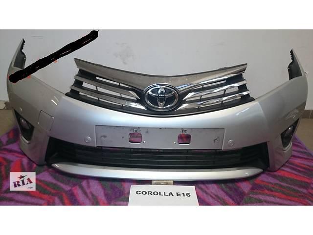 бу Б/у бампер передний для легкового авто Toyota Corolla в Здолбунове
