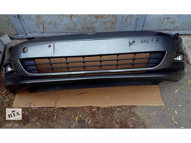 купить бу Б/у бампер передний для легкового авто Volkswagen Golf VII Golf 7 в Чернигове