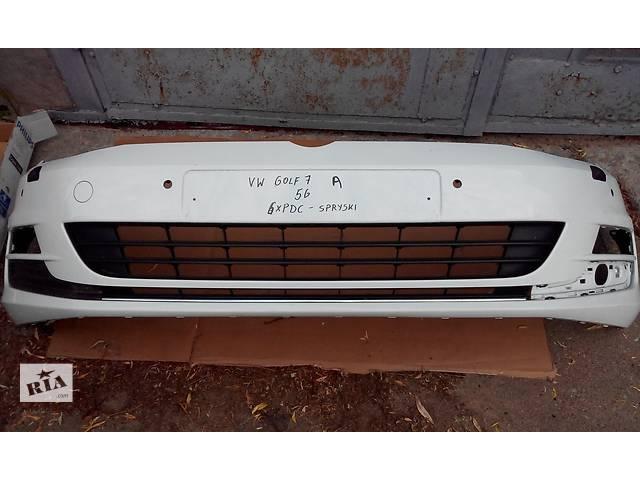 продам Б/у бампер передний для легкового авто Volkswagen Golf VII бу в Чернигове