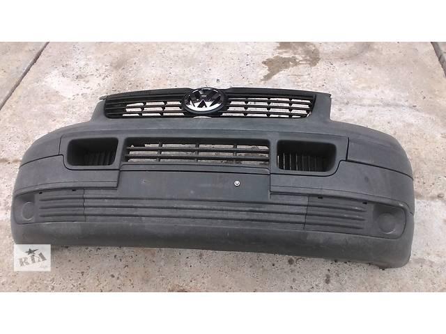 продам Б/у бампер передний для легкового авто Volkswagen T5 (Transporter) бу в Львове