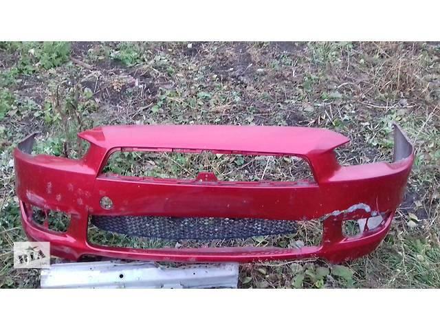продам Б/у бампер передний для  Mitsubishi Lancer X ПОД РЕМОНТ бу в Володарке