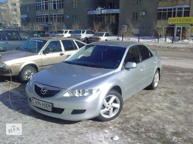 бу Б/у бампер передний для седана Mazda 6 в Одессе