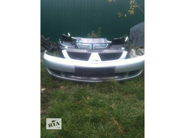 продам Б/у бампер передний для седана Mitsubishi Lancer бу в Хмельницком