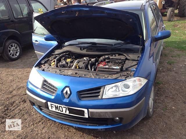 продам Б/у бампер передний для седана Renault Megane II бу в Львове