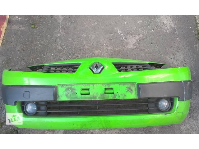 купить бу Б/у бампер передний для универсала Renault Megane II в Ковеле