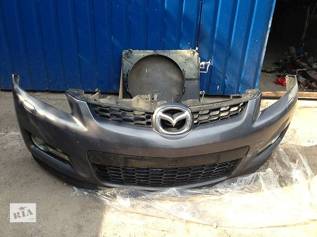 купить бу Б/у бампер передний Европа  Mazda CX-7 в Киеве