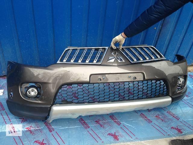 продам Б/у Бампер передний Mitsubishi L 200 бу в Киеве