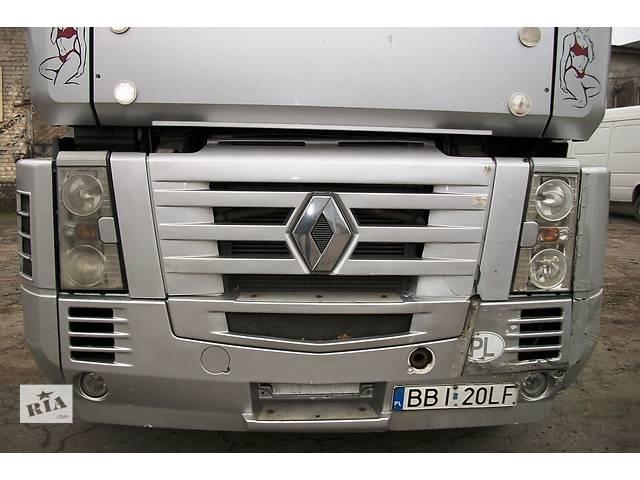 купить бу Б/у бампер передний Renault Magnum DXI Рено Магнум 440 2005г Evro3 в Рожище