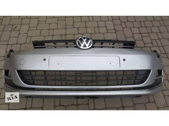 Б/у бампер передний решетка VW Volkswagen Golf VII разные цвета- объявление о продаже  в Харькове