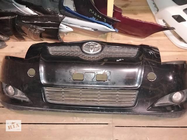 продам Б/у бампер передний в сборе для легкового авто Toyota Auris 2008 5215902680 бу в Киеве