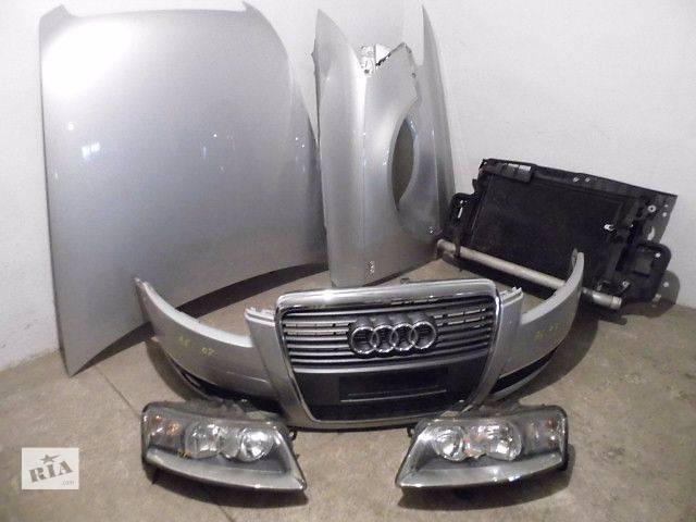 продам Б/у бампер передний, задний, капот, фары, радиаторы, крылья, двери, стекло для Audi 100 A6 С5 С6 бу в Харькове