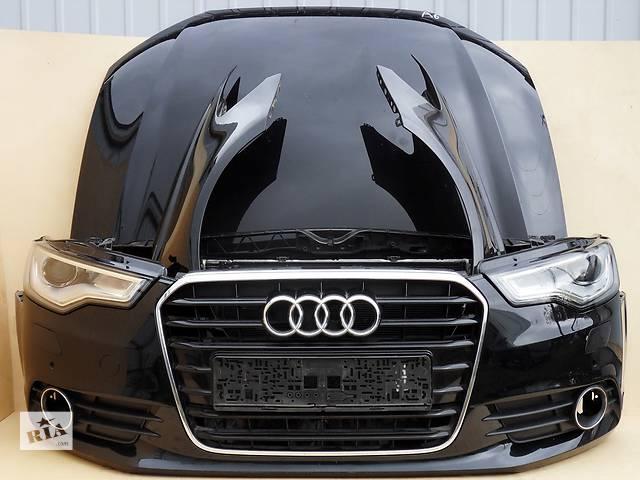 продам Б/у бампер передний, задний, капот, фары, радиаторы, крылья, двери, стекло для Audi  A6 С6 С7 бу в Харькове