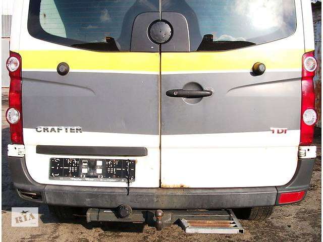 купить бу Б/у Бампер задний для автобуса Volkswagen Crafter Фольксваген Крафтер 2.5 TDI 2006-2010 в Рожище