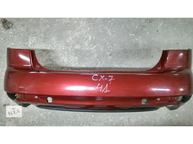 Б/у бампер задний для кроссовера Mazda CX-7 2010- объявление о продаже  в Луцке