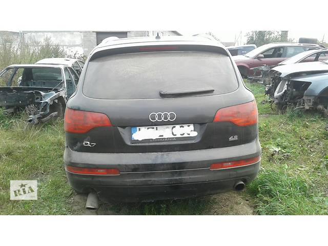 Б/у бампер задний для легкового авто Audi Q7- объявление о продаже  в Львове