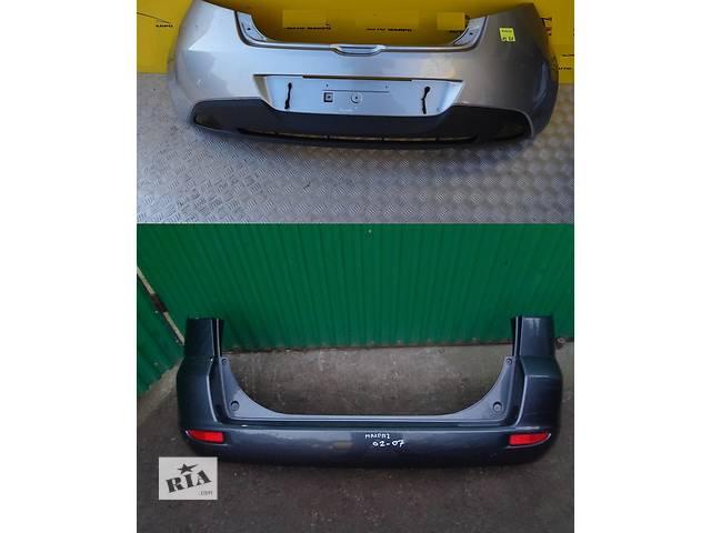 продам Б/у бампер задний для легкового авто Mazda 2 бу в Львове