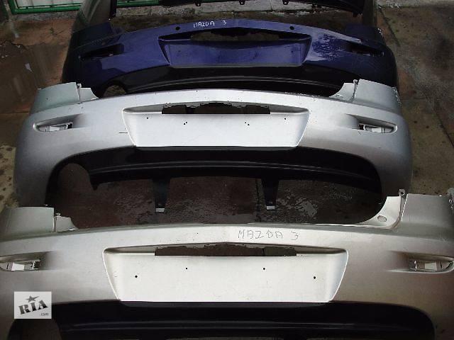 бу Б/у бампер задний для легкового авто Mazda 3 Hatchback ДЕШЕВО В НАЛИЧИИ!!! в Львове