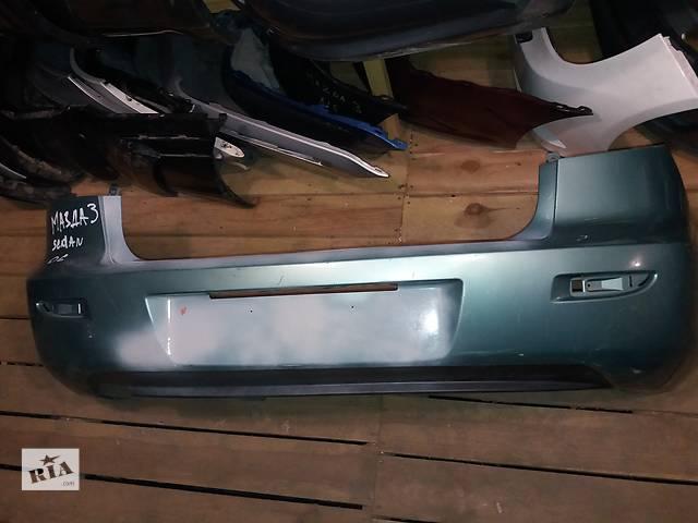 Б/у бампер задний для легкового авто Mazda 3 sedan 2005 BN8V50221- объявление о продаже  в Киеве