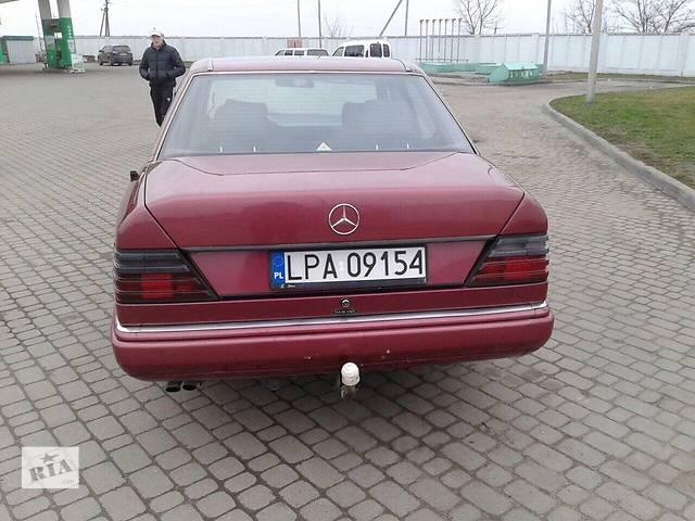 продам Б/у бампер задний для легкового авто Mercedes 124 бу в Львове