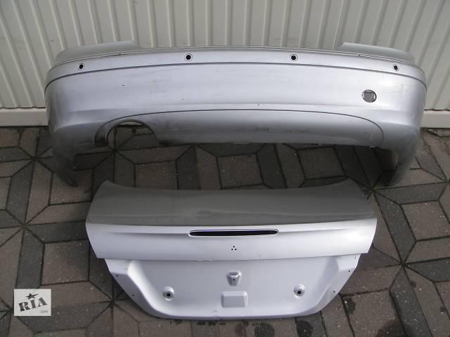 Б/у бампер задний для легкового авто Mercedes CLK-Class w209 02-- объявление о продаже  в Львове