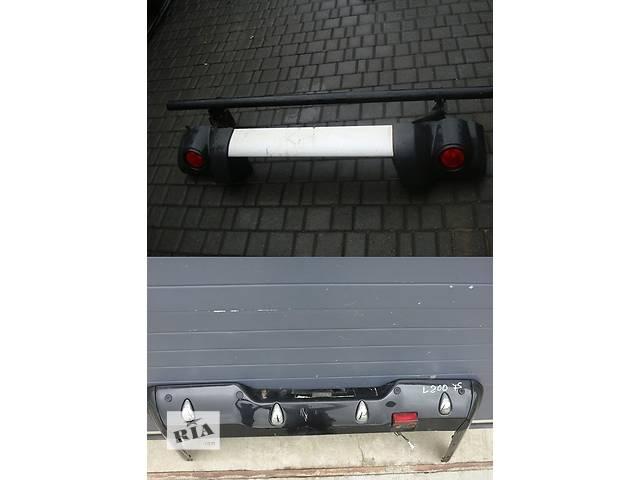 бу Б/у бампер задний для легкового авто Mitsubishi L 200 в Львове