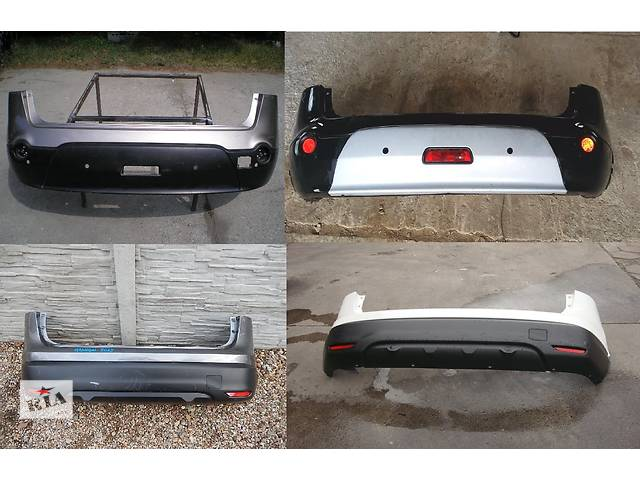 купить бу Б/у бампер задний для легкового авто Nissan Qashqai в Львове