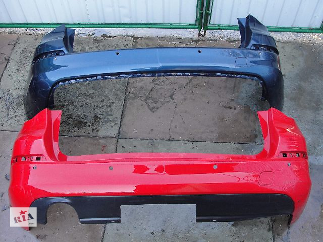 купить бу Б/у бампер задний для легкового авто Opel Astra J ДЕШЕВО В НАЛИЧИИ!!!! в Львове