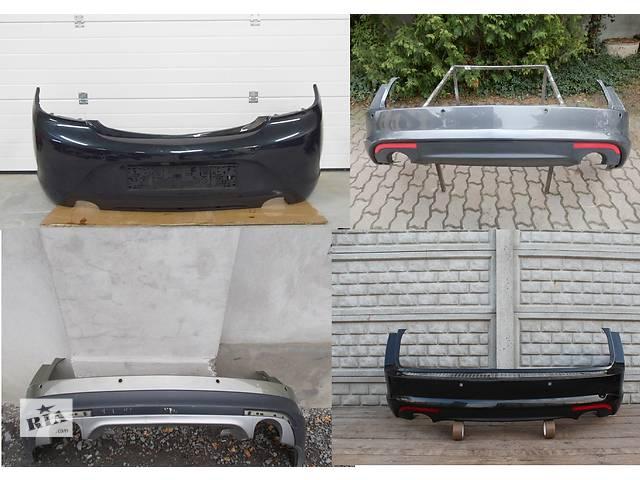 купить бу Б/у бампер задний для легкового авто Opel Insignia в Львове
