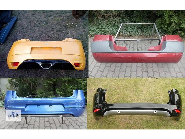 продам Б/у бампер задний для легкового авто Renault Megane бу в Львове