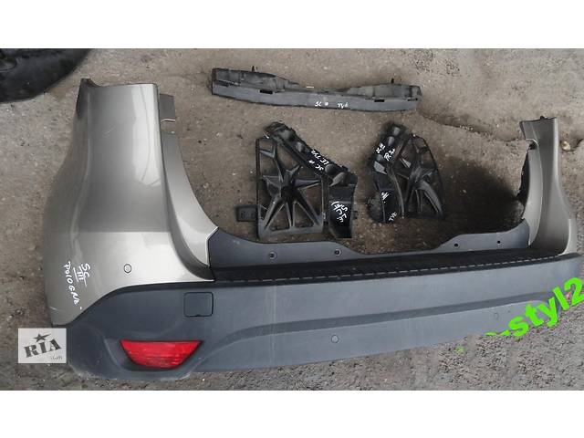 продам Б/у бампер задний для легкового авто Renault Scenic бу в Львове