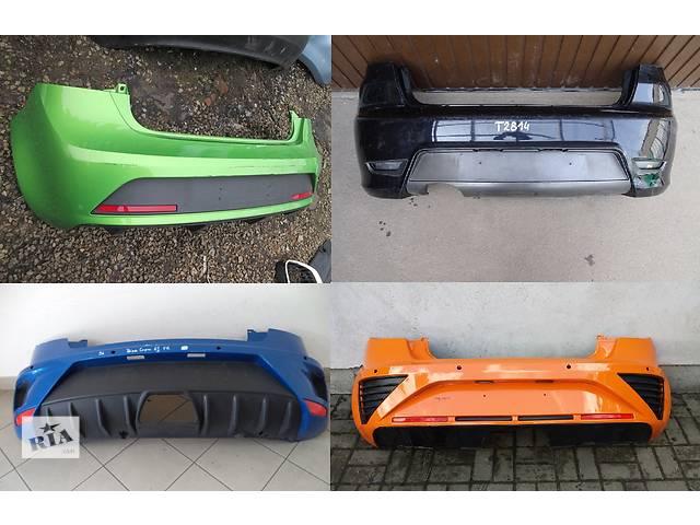 купить бу Б/у бампер задний для легкового авто Seat Ibiza в Львове