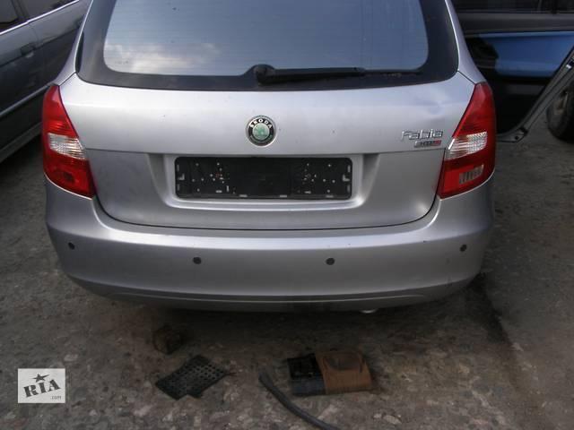 Б/у бампер задний для легкового авто Skoda Fabia- объявление о продаже  в Новой Каховке