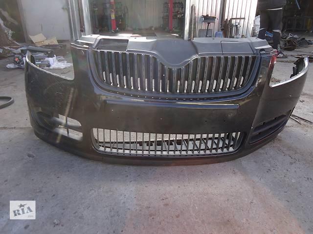 бу Б/у бампер задний для легкового авто Skoda Fabia в Киеве