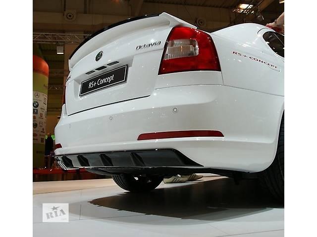 продам Б/у бампер задний для легкового авто Skoda Octavia A5 бу в Днепре (Днепропетровск)