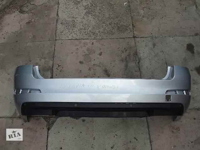 купить бу Б/у бампер задний для легкового авто Skoda Octavia A7 УНИВЕРСАЛ ДЕШЕВО В НАЛИЧИИ!!! в Львове