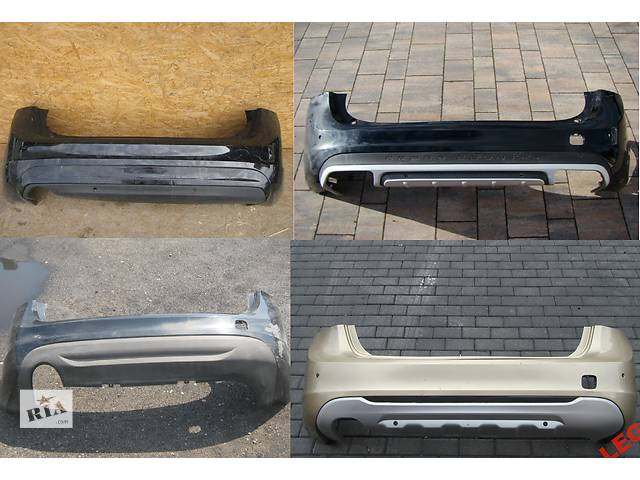 купить бу Б/у бампер задний для легкового авто Volvo S60 в Львове