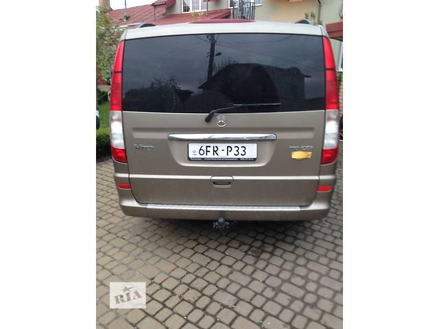 продам Б/у бампер задний для микроавтобуса Mercedes Vito бу в Львове