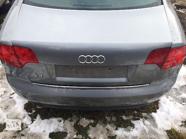 продам Б/у бампер задний для седана Audi A4 (В7)  2005-2007 бу в Львове