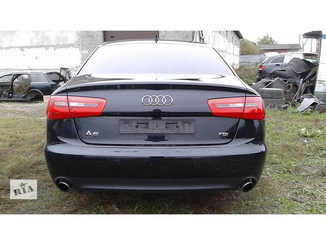 продам Б/у бампер задний для седана Audi A6С7 бу в Львове