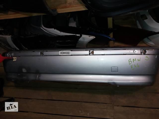 продам Б/у бампер задний для седана BMW 3 Series e46 51127030587229 бу в Киеве