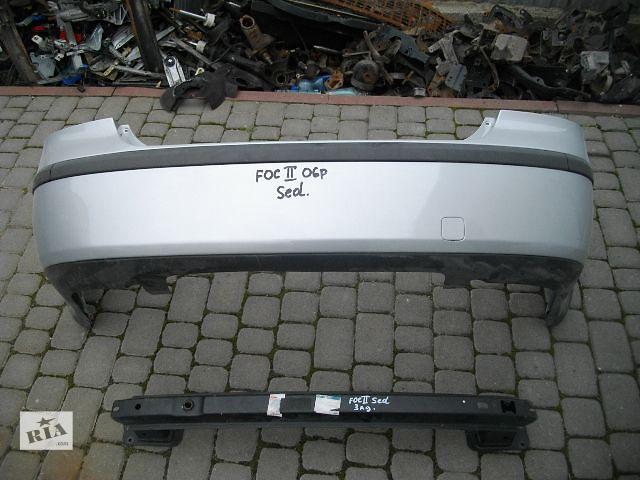продам Б/у бампер задний для седана Ford Focus 2006 бу в Львове