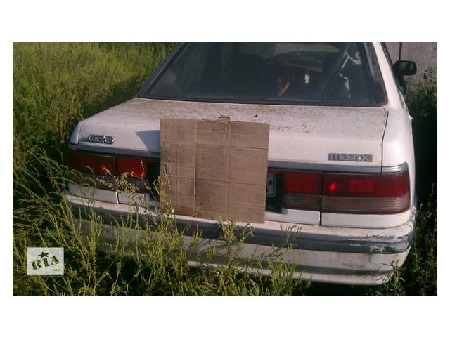купить бу Б/у бампер задний для седана Mazda 626 1988-1991 в Николаеве