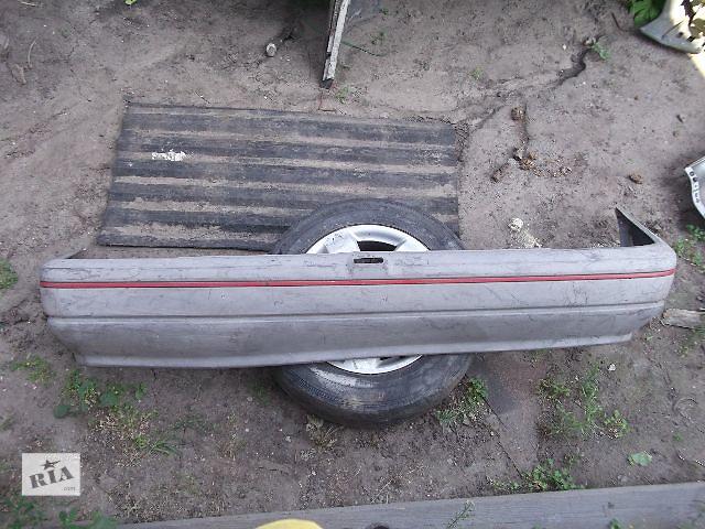 продам Б/у бампер задний для седана Opel Kadett 1989 бу в Днепре (Днепропетровске)