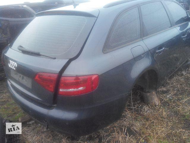 продам Б/у бампер задний для универсала Audi A4 Avant 2010 бу в Львове