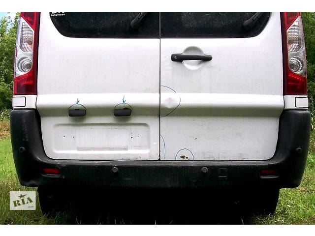 бу Б/у бампер задний Фиат Фіат Скудо Fiat Scudo с 2007- в Ровно